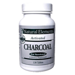 Natural Elements Activated Charcoal - 130 Tabs